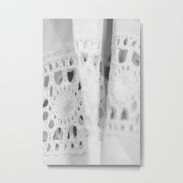 Eyelet Metal Print