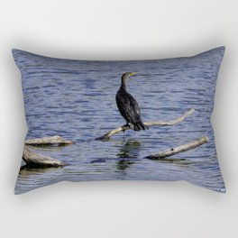Chicago Coromorant (Chicago North Pond Collection) Rectangular Pillow