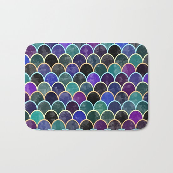 Watercolor Lovely Pattern VVI Bath Mat