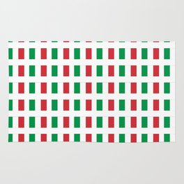 flag of Italia- Italy,Italia,Italian,Latine,Roma,venezia,venice,mediterreanean,Genoa,firenze Rug