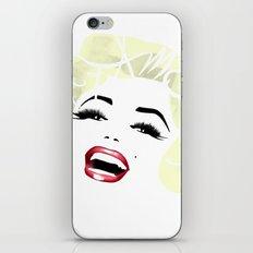 Bombshell Series: Fame - Marilyn Monroe iPhone & iPod Skin