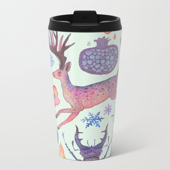 Et coloris natura I Metal Travel Mug