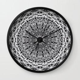Art Deco Mandala Wall Clock
