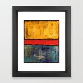 Primary Rothko Framed Art Print