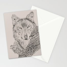 Dream about a Wolf Stationery Cards