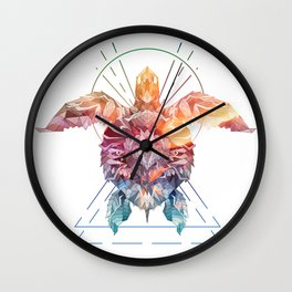 Spirit of the SeaTurtle Wall Clock
