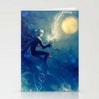 jack frost Stationery Cards featuring Jack Frost by AkiMao
