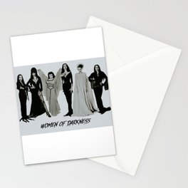 Women of Darkness (femme fatales) Stationery Cards