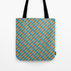 Pixel Hot Dogs Tote Bag