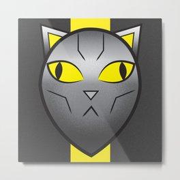 CatBot Metal Print