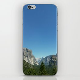 Yosemite National Park. Tunel view. California iPhone Skin