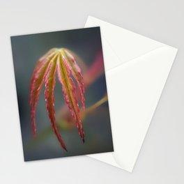 Springtime Acer Leaf Stationery Cards