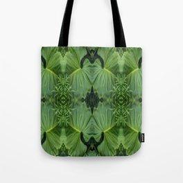 Leafy Four Tote Bag