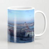 budapest Mugs featuring Budapest by Nikki Morgan