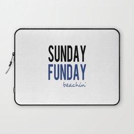 Sunday Funday Beachin' Laptop Sleeve