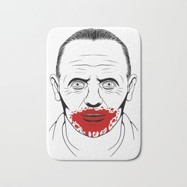 Hannibal Lecter Bath Mat