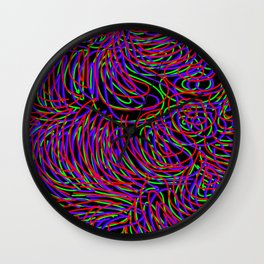 The Eighties Wall Clock