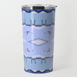 Symmetry: Greek Lace Travel Mug