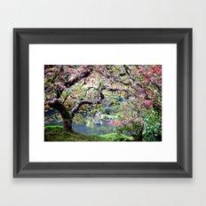 Autumn Maple Framed Art Print
