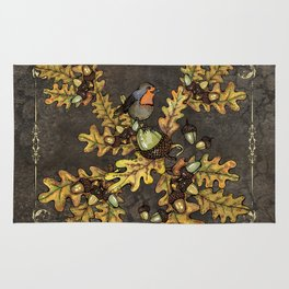 History of the autumn forest+5 Rug