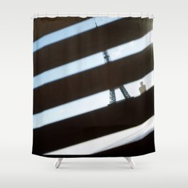 Paris, The Eiffel Tower Shower Curtain