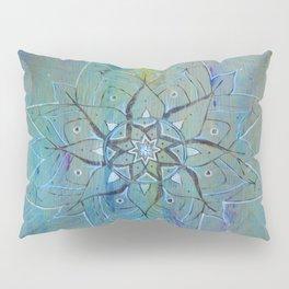 Pyrographic Mandala Pillow Sham