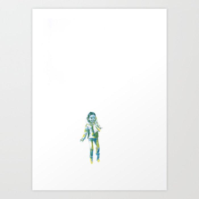 Les petites filles II.5 Art Print
