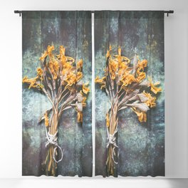 Bunch Of Daffodils Blackout Curtain