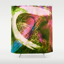 Vast2: Flask Shower Curtain