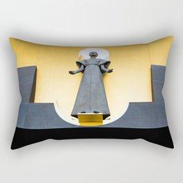Golden Saint Rectangular Pillow