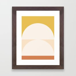 Abstract Geometric 01 Gerahmter Kunstdruck