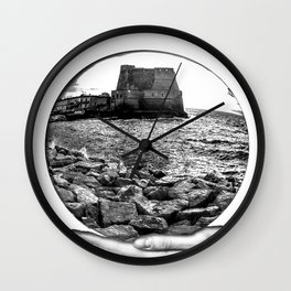 Castel dell' Ovo Napoli Wall Clock