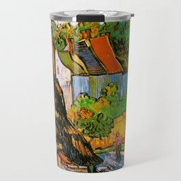 Vincent Van Gogh - House in Auvers Travel Mug