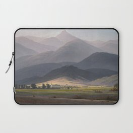 Caspar David Friedrich - View of the Small Sturmhaube from Warmbrunn Laptop Sleeve