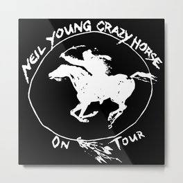 neil young crazy horse tour 2020 2021 ngamein Metal Print