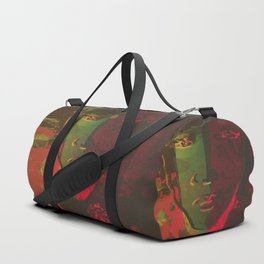 Stay Wild and Kiss Me Duffle Bag