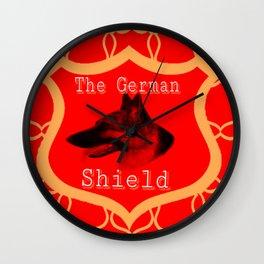 The German Shield Wall Clock