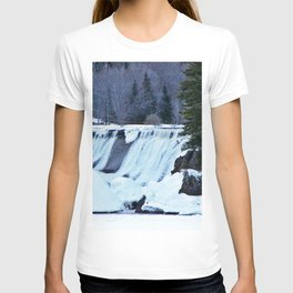 Waterfalls in Winter T-shirt