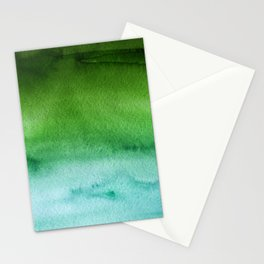 Sky Watercolor Texture Abstract 512 Stationery Cards