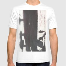 West 4th Street MEDIUM White Mens Fitted Tee