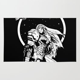 Interstellar Bounty Hunter Rug