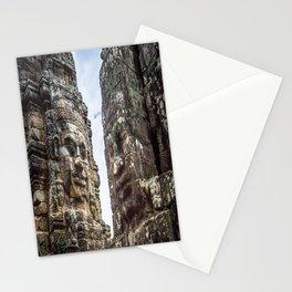 Bayon Temple, Angkor Thom, Cambodia Stationery Cards
