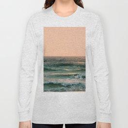 Pink Skies Ocean Vibes Long Sleeve T-shirt