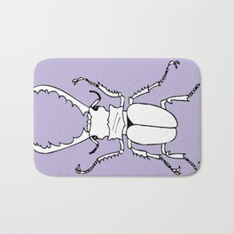 It's a stag beetle, I have no clever name for this.. Bath Mat
