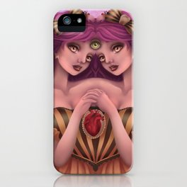 Pineal Symmetry iPhone Case