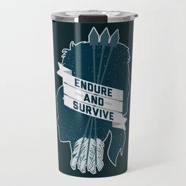 Endure and Survive Travel Mug