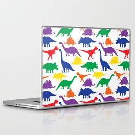 Dinosaurs - White Laptop & iPad Skin