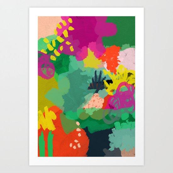 L'automne Art Print