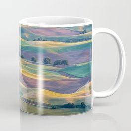 The Palouse at Sunset in Summer Coffee Mug