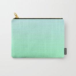 BIG WAVES - Minimal Plain Soft Mood Color Blend Prints Carry-All Pouch